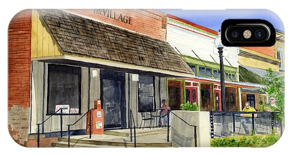 Urban iPhone Case - The Village by Hailey E Herrera