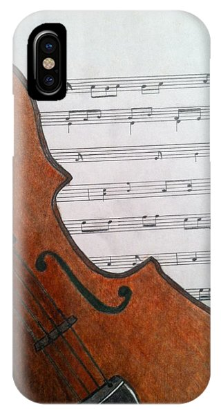The Violin IPhone Case