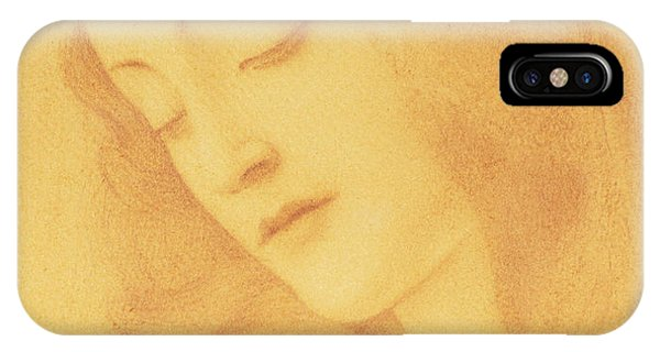 The Virgin After Botticelli IPhone Case