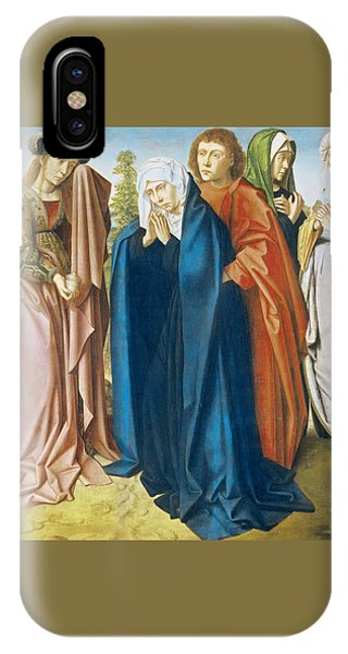 The Virgin Mary With St John The Evangelist And The Holy Women IPhone Case