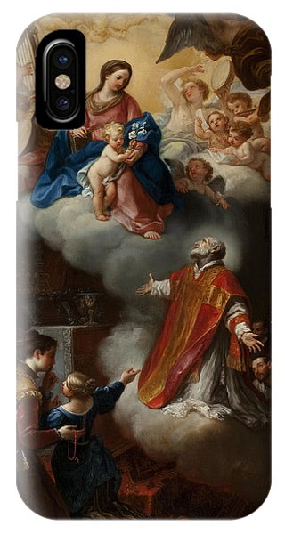 The Vision Of St. Philip Neri, 1721 IPhone Case