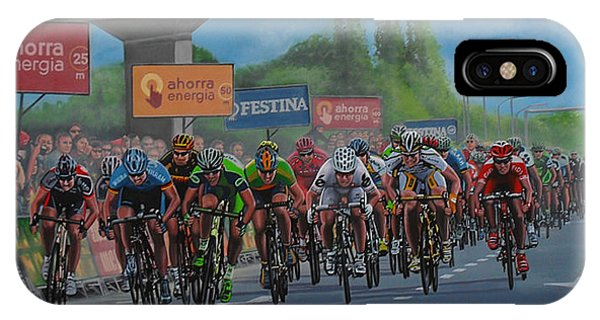 The Sky iPhone Case - The Vuelta by Paul Meijering