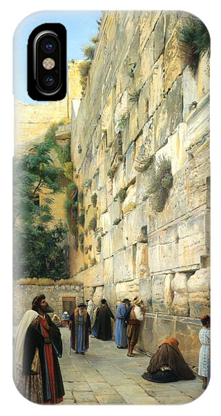The Wailing Wall Jerusalem IPhone Case