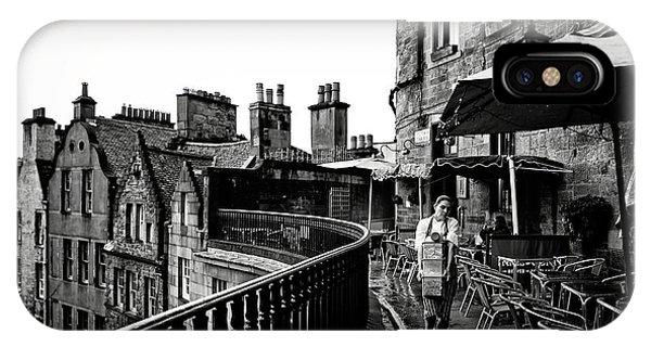 Scotland iPhone Case - The Waitress by Julien Oncete