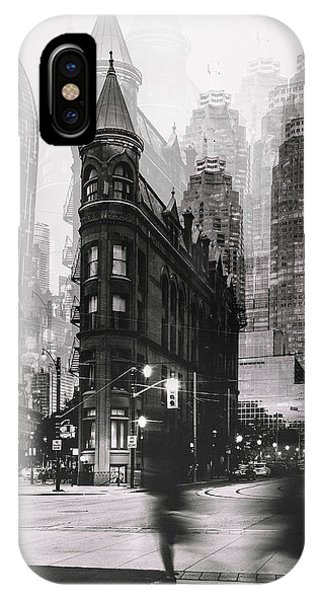 Buildings iPhone Case - The Walk by Carmine Chiriac??