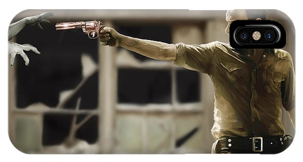 Shooting iPhone Case - The Walking Dead by Paul Tagliamonte