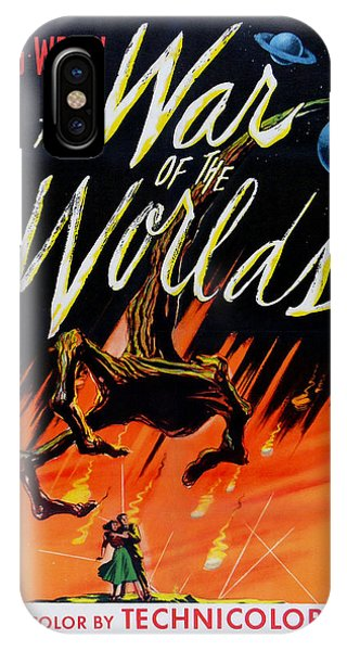 The War Of The Worlds IPhone Case