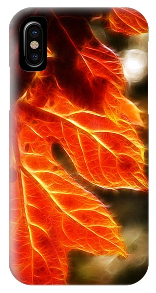 The Warmth Of Fall IPhone Case