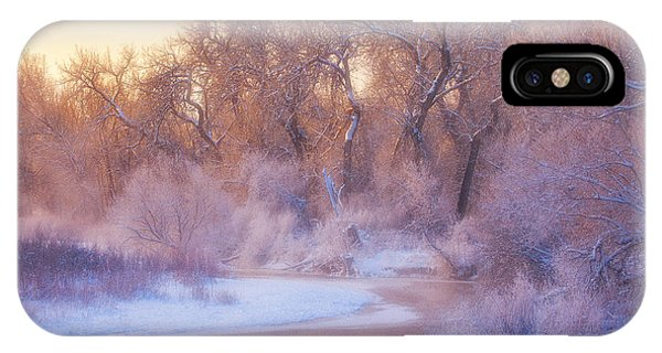 Ice iPhone Case - The Warmth Of Winter by Darren  White