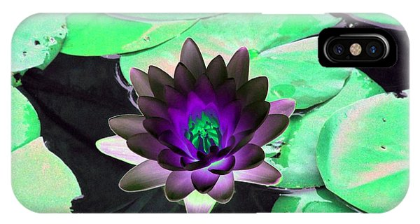 The Water Lilies Collection - Photopower 1113 IPhone Case