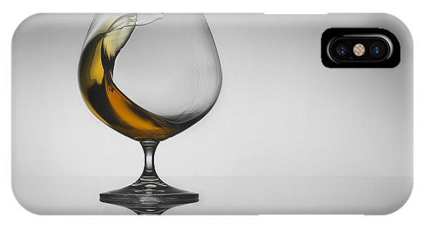 Whiskey iPhone Case - The Wave by Jackson Carvalho