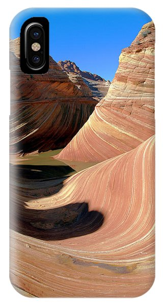 'the Wave' North Coyote Buttes 19 IPhone Case