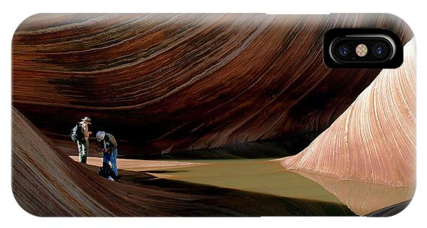 'the Wave' North Coyote Buttes 44 IPhone Case