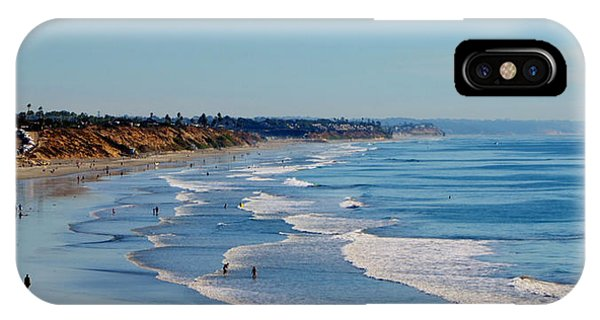The Waves In Carlsbad Beach California  IPhone Case