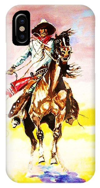 The Way Of The Vaquero IPhone Case