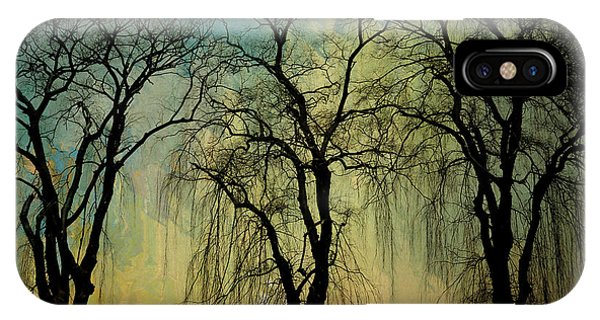 The Weeping Trees IPhone Case