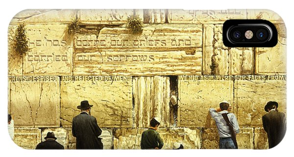 The Western Wall  Jerusalem IPhone Case
