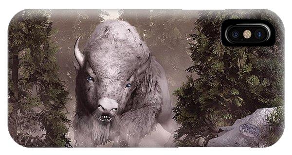 The White Buffalo IPhone Case