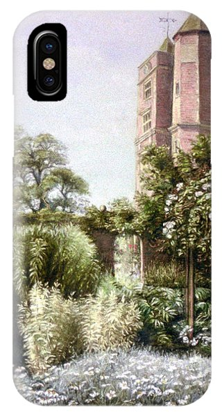 The White Garden IPhone Case