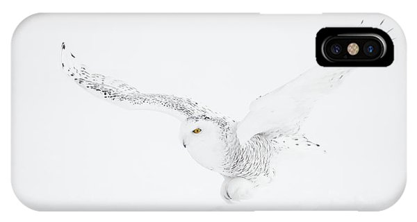 The White Ghost Is Coming Phone Case by Marco Pozzi