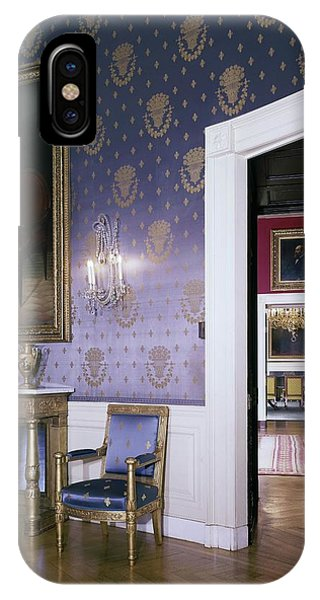 The White House Blue Room IPhone Case