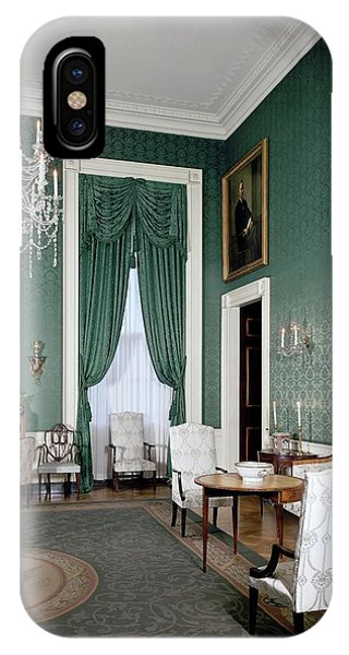 The White House Green Room IPhone Case
