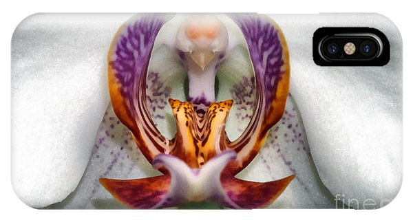The White Orchid IPhone Case
