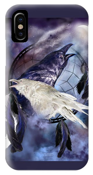 The White Raven IPhone Case