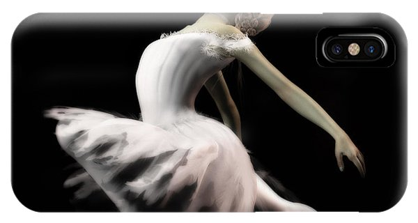 The White Swan - Ballerina IPhone Case