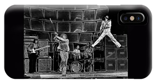 The Who - A Pencil Study - Designed By Doc Braham IPhone Case