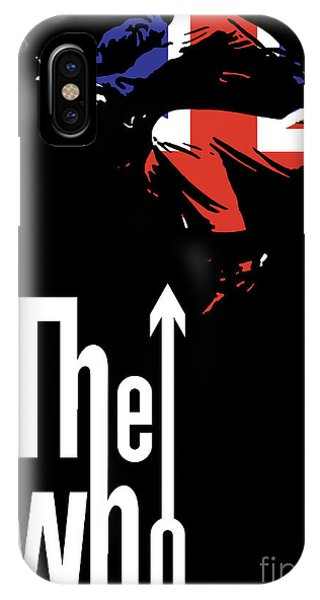 Famous Artist iPhone Case - The Who No.01 by Geek N Rock