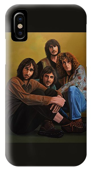 Popstar iPhone Case - The Who by Paul Meijering