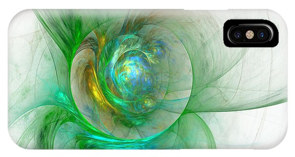 The Whole World In A Small Flower IPhone Case
