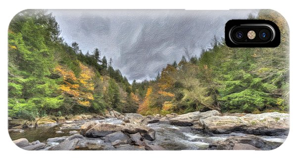 The Wild River Oil Painting IPhone Case