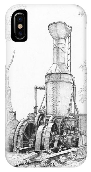 The Willamette Steam Donkey IPhone Case