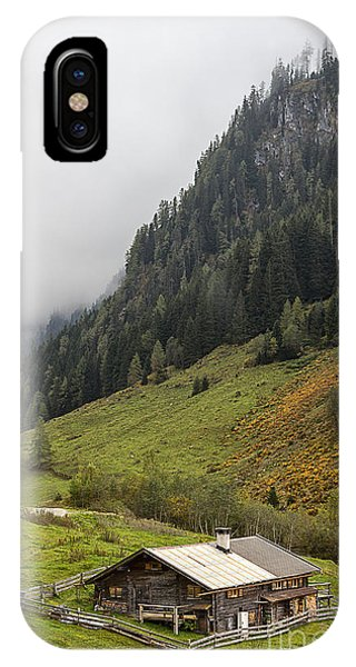 The Wimmertal In Tirol IPhone Case