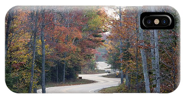 The Winding Road Phone Case by Jim Baker