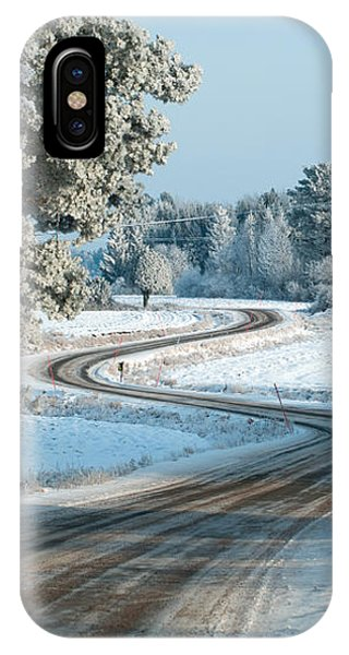 The Winding Road IPhone Case