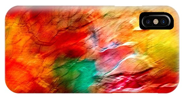 The Winds Of Color IPhone Case