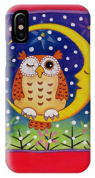 The Winking Owl IPhone Case