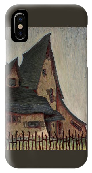 The  Witches House  IPhone Case