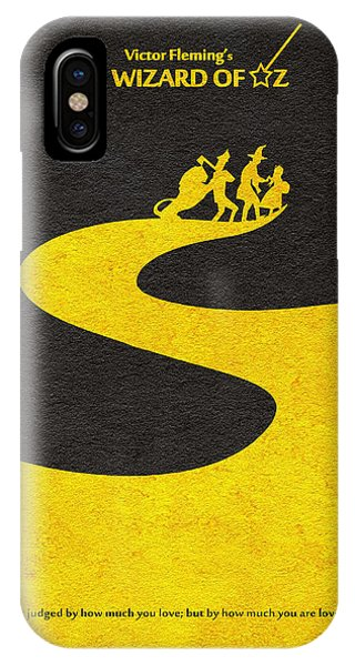 Wizard iPhone X / XS Case - The Wizard Of Oz by Inspirowl Design