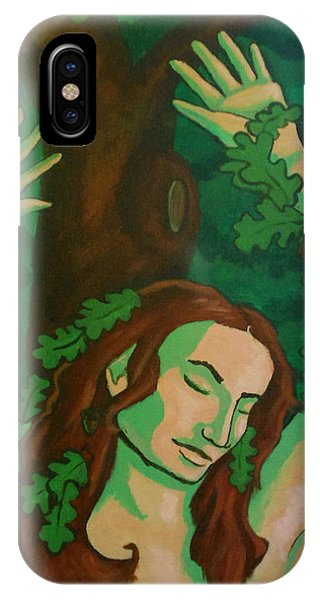The Wooded Woman IPhone Case