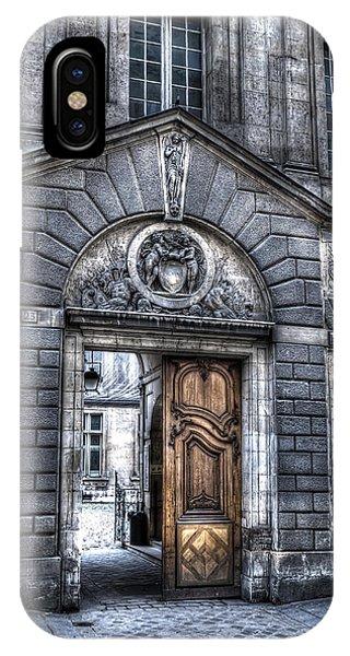 The Wooden Door IPhone Case