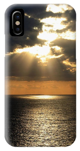 Key West Sunset The Word IPhone Case