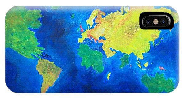 The World Atlas According To The Irish IPhone Case
