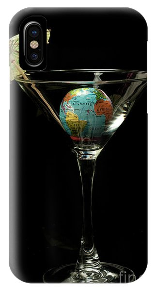 The World Tini Cocktail IPhone Case