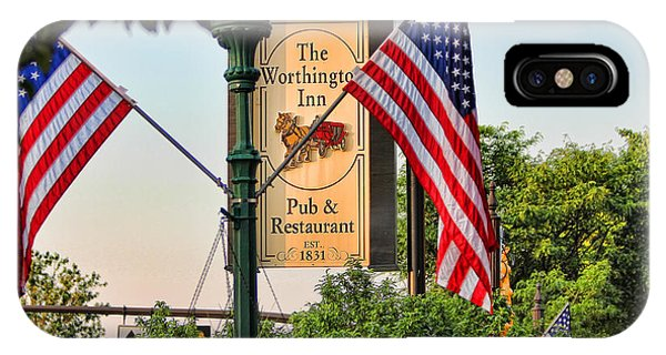 The Worthington Inn Sign IPhone Case