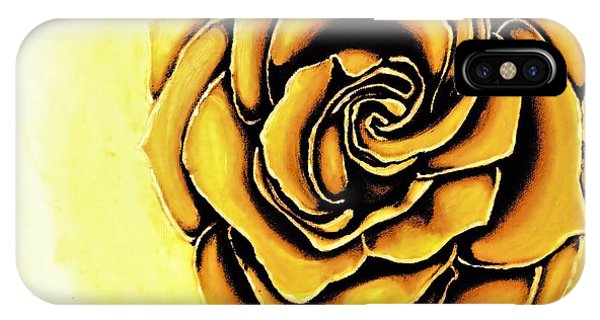 The Yellow Rose IPhone Case