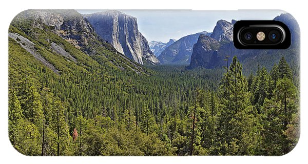 The Yosemite Valley IPhone Case